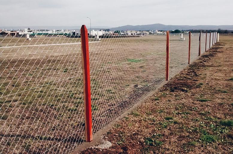 Poste Quebracho Colorado